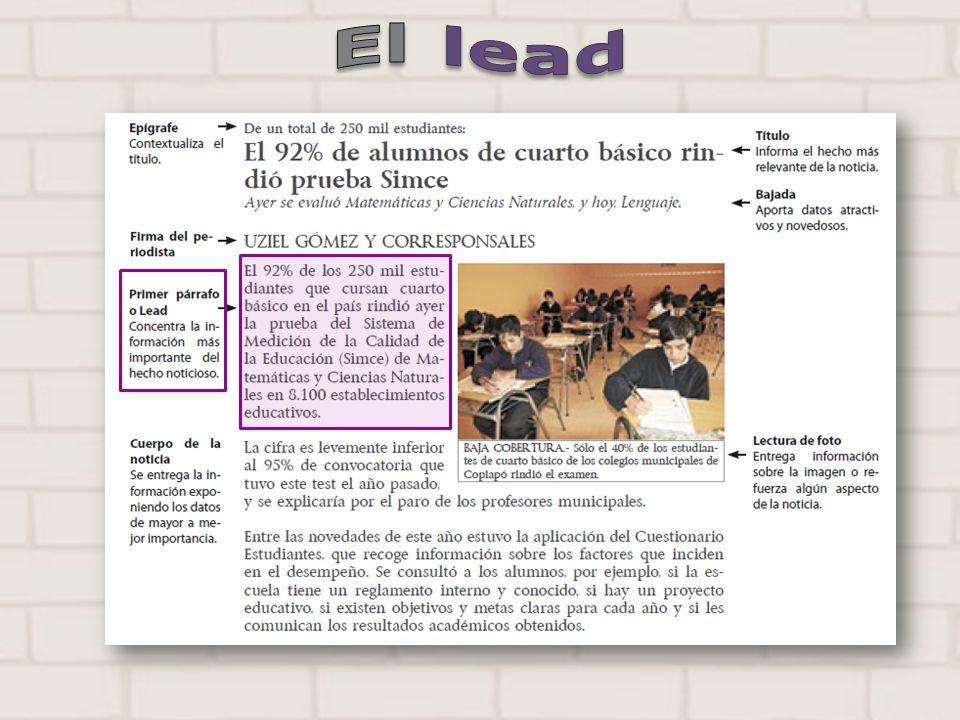 El lead