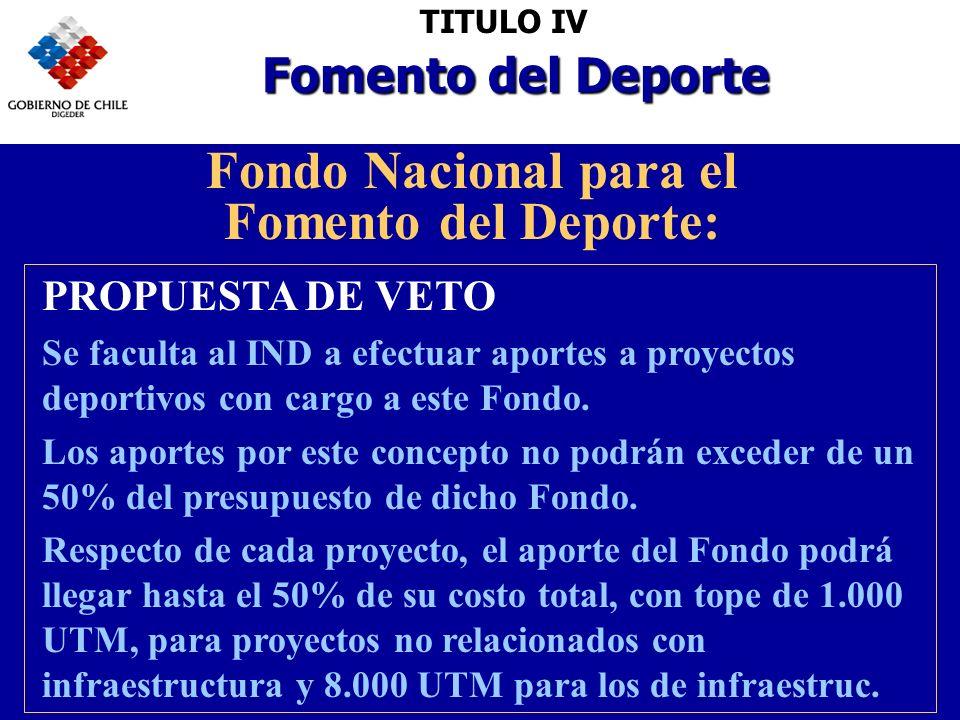 Fondo Nacional para el Fomento del Deporte: