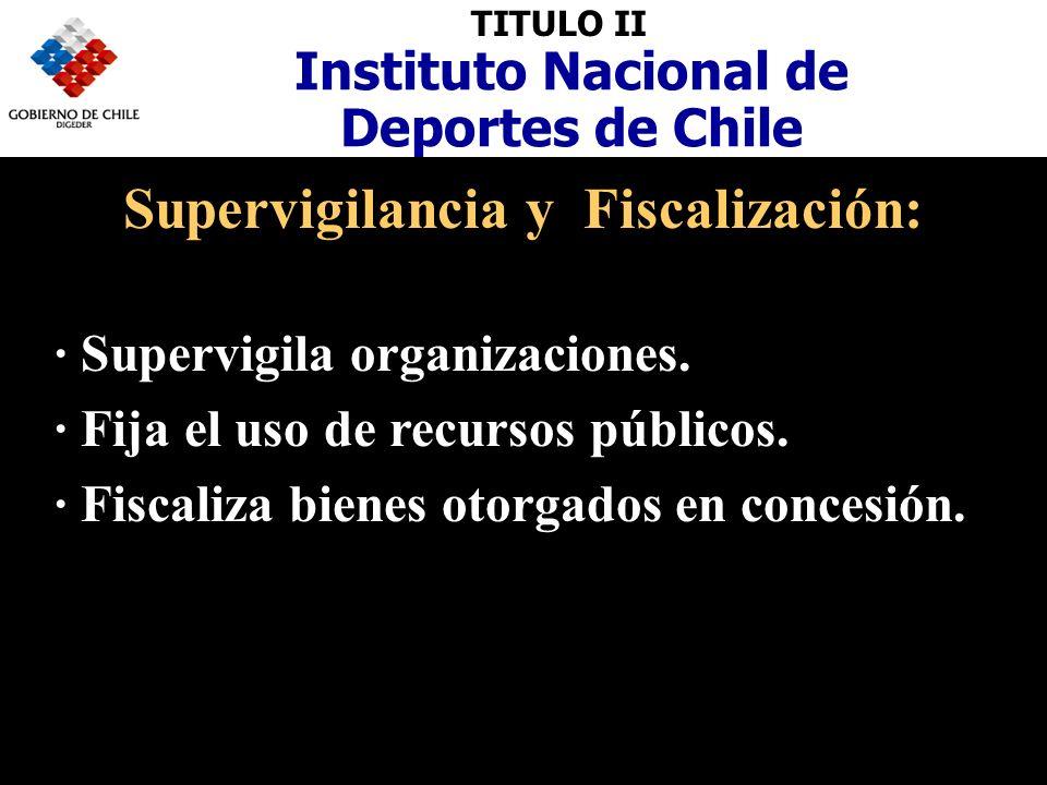 Supervigilancia y Fiscalización:
