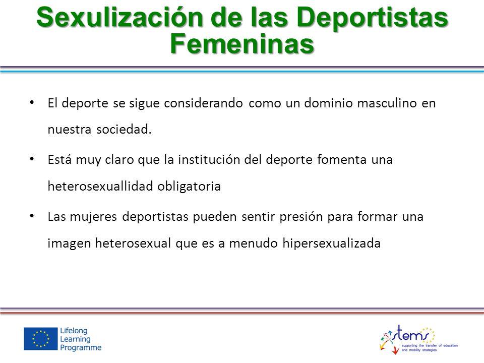 Sexulización de las Deportistas Femeninas