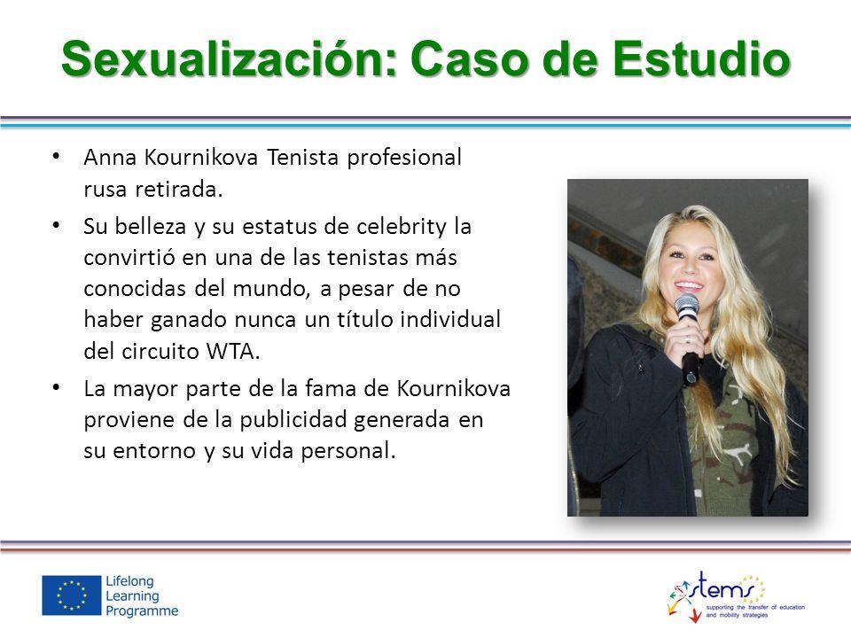 Sexualización: Caso de Estudio