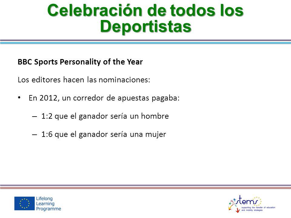 Celebración de todos los Deportistas
