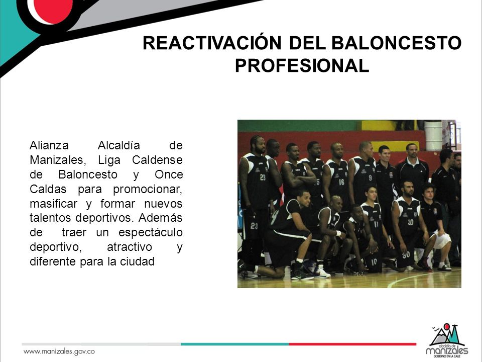 REACTIVACIÓN DEL BALONCESTO PROFESIONAL