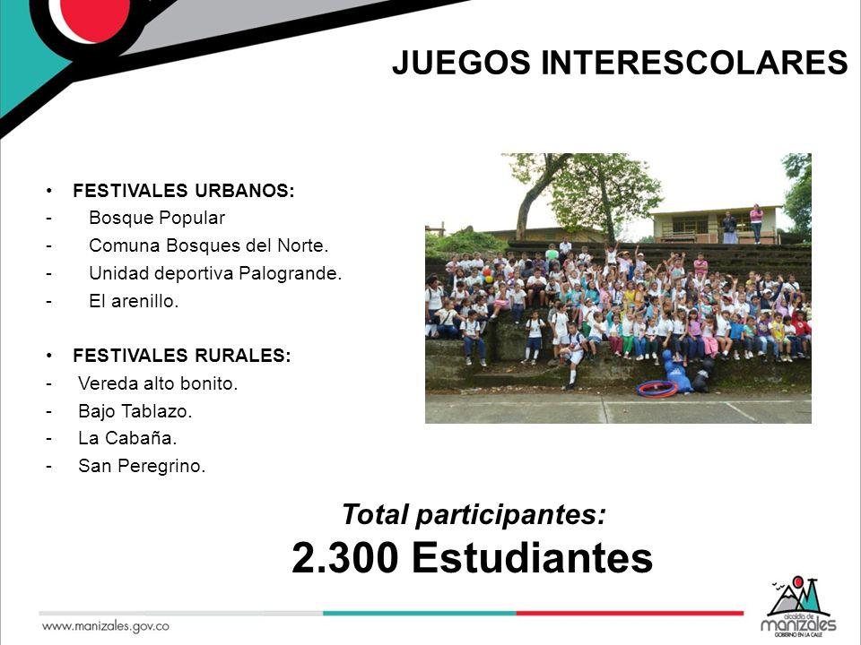 JUEGOS INTERESCOLARES