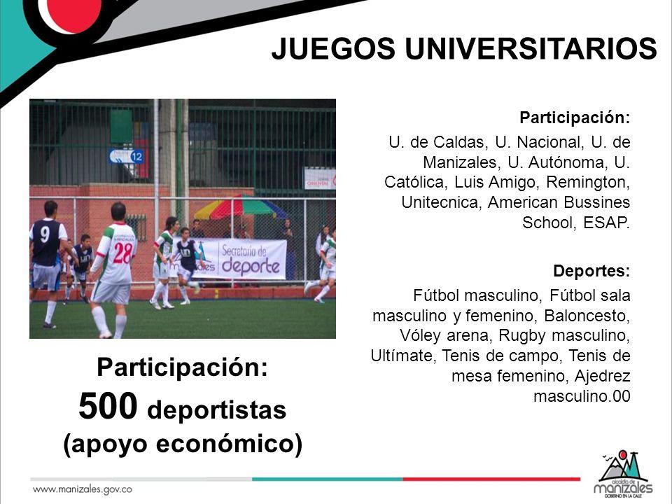 JUEGOS UNIVERSITARIOS