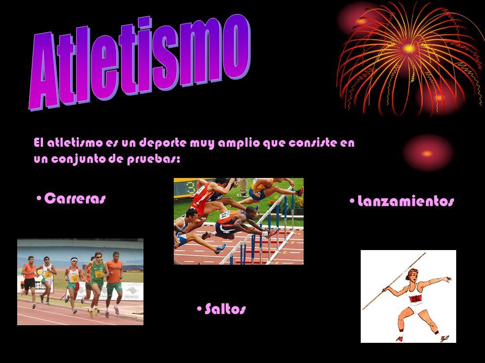 Atletismo Lanzamientos Carreras Saltos