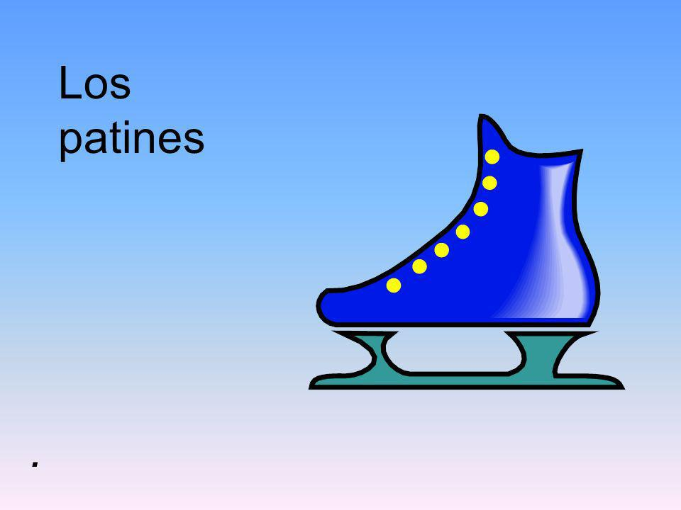 Los patines .