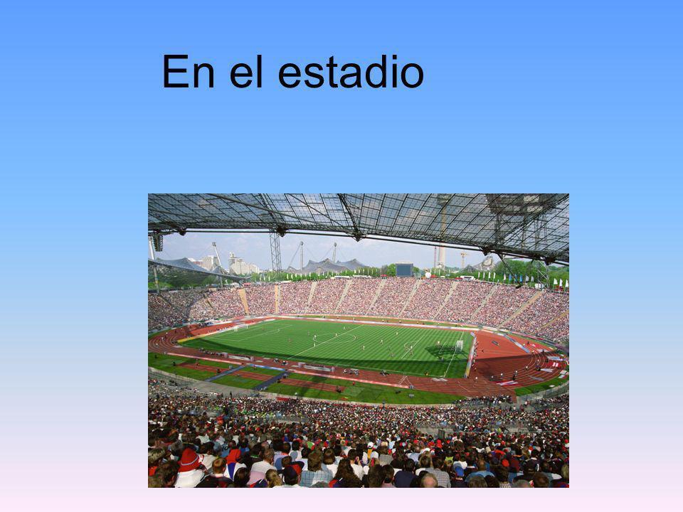 En el estadio