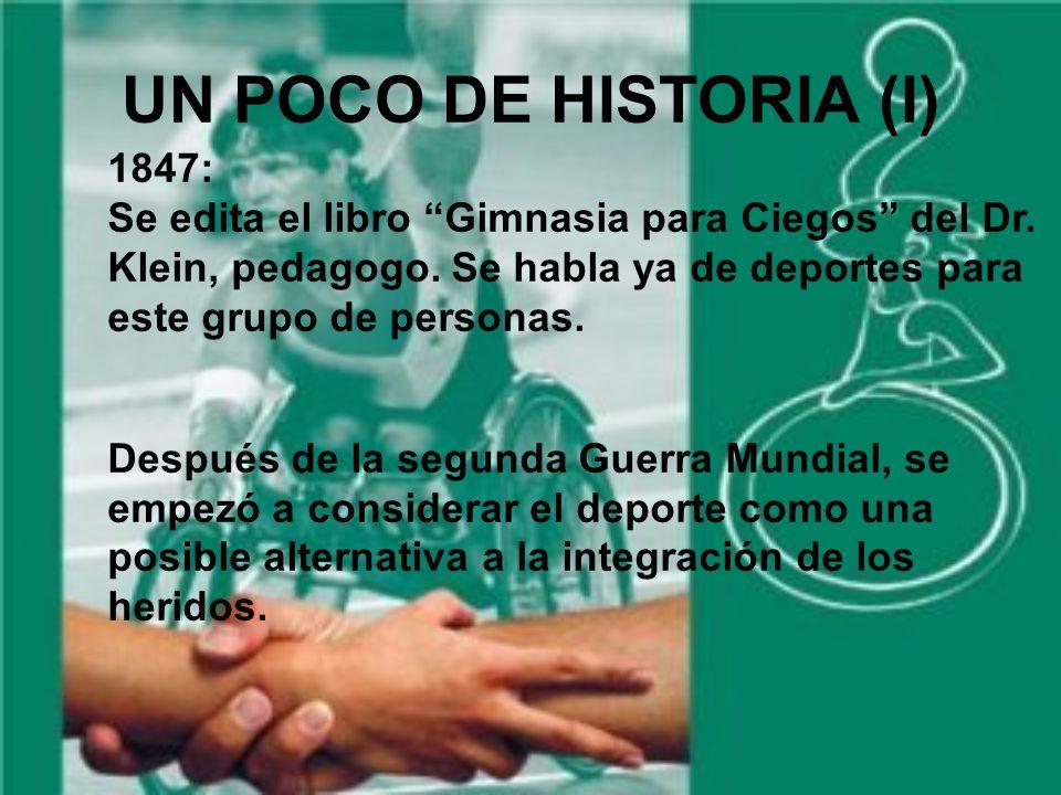 UN POCO DE HISTORIA (I) 1847: