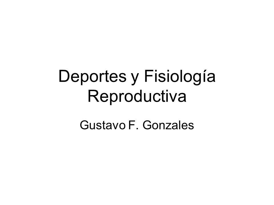 Deportes y Fisiología Reproductiva