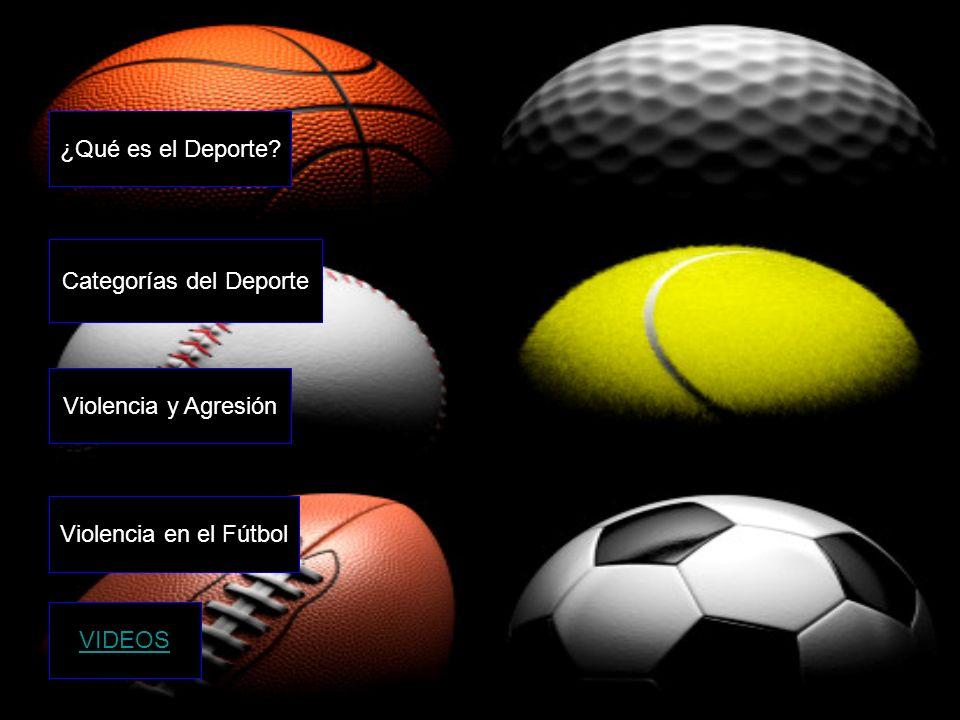 Categorías del Deporte