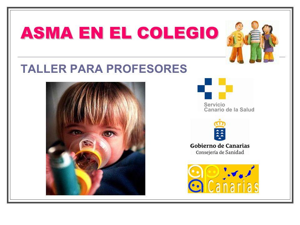ASMA EN EL COLEGIO TALLER PARA PROFESORES