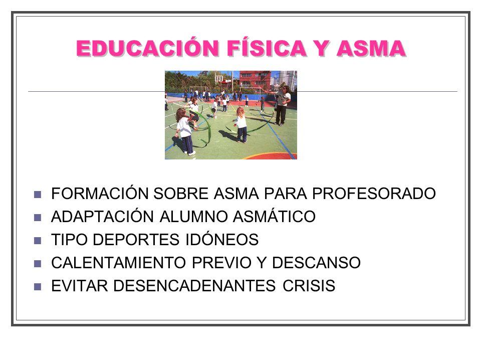 EDUCACIÓN FÍSICA Y ASMA