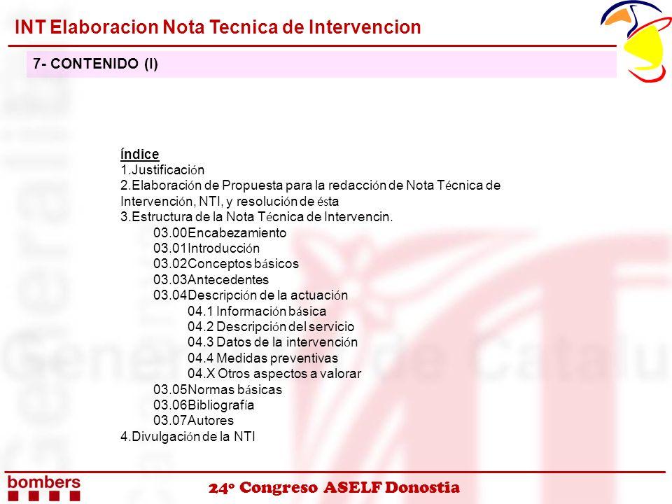 INT Elaboracion Nota Tecnica de Intervencion