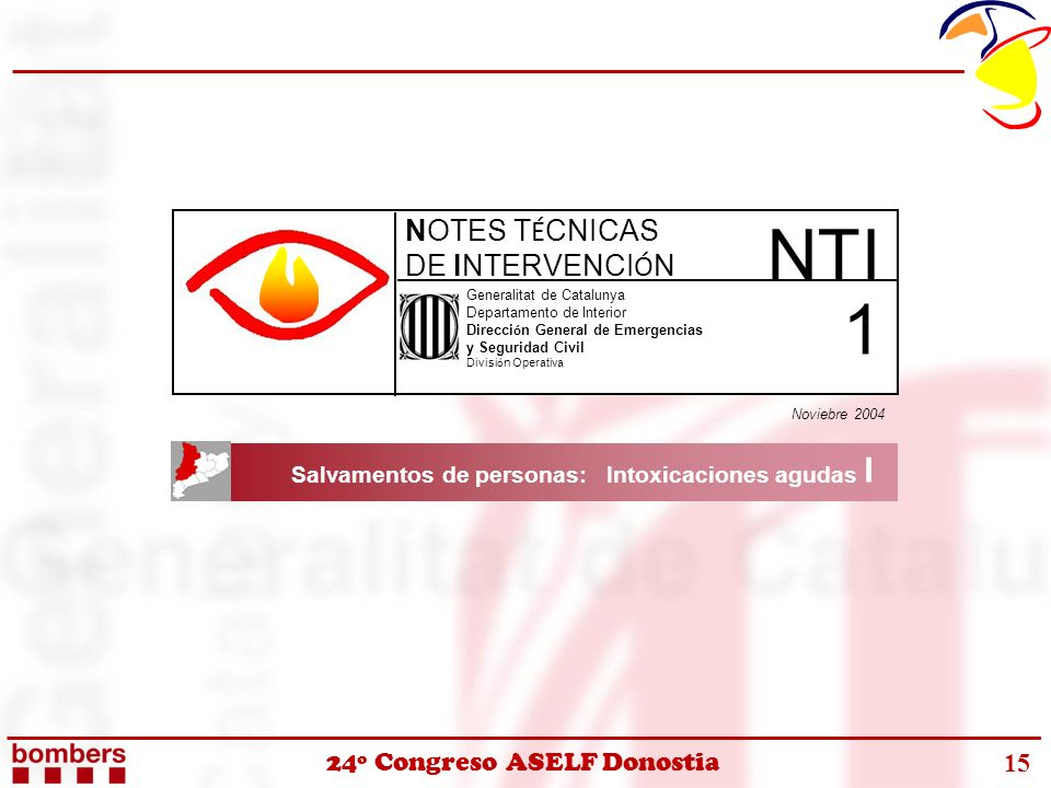 NTI 1 NOTES TÉCNICAS DE INTERVENCIÓN
