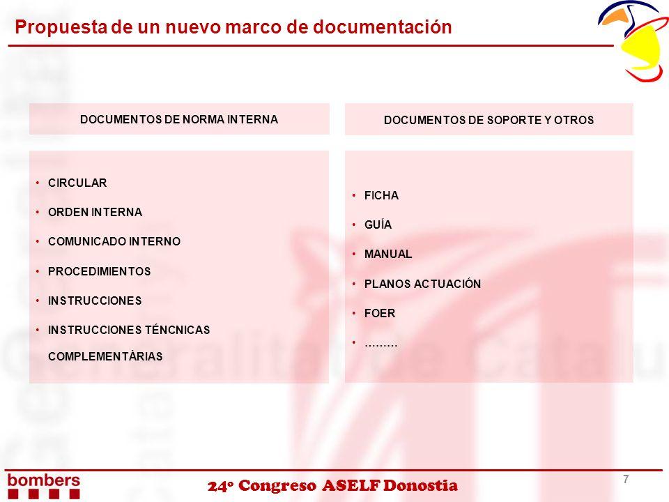 Propuesta de un nuevo marco de documentación