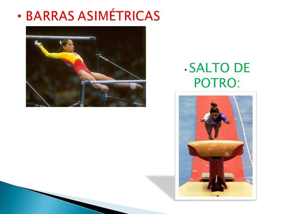 BARRAS ASIMÉTRICAS SALTO DE POTRO: