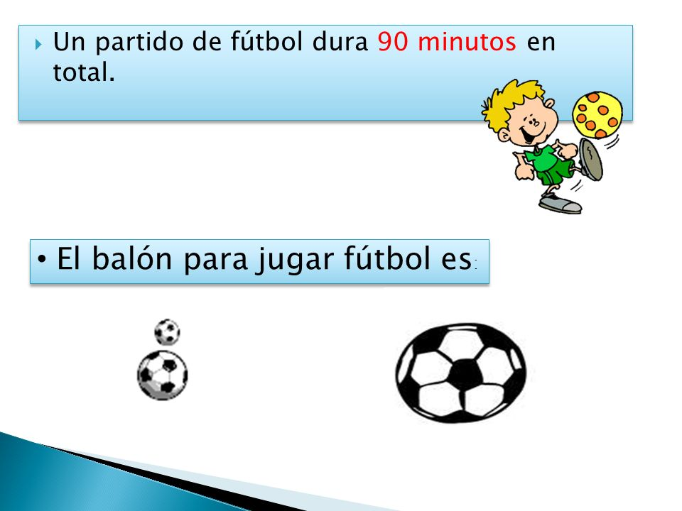 El balón para jugar fútbol es: