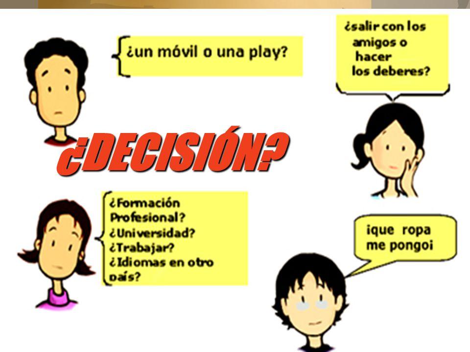 ¿DECISIÓN