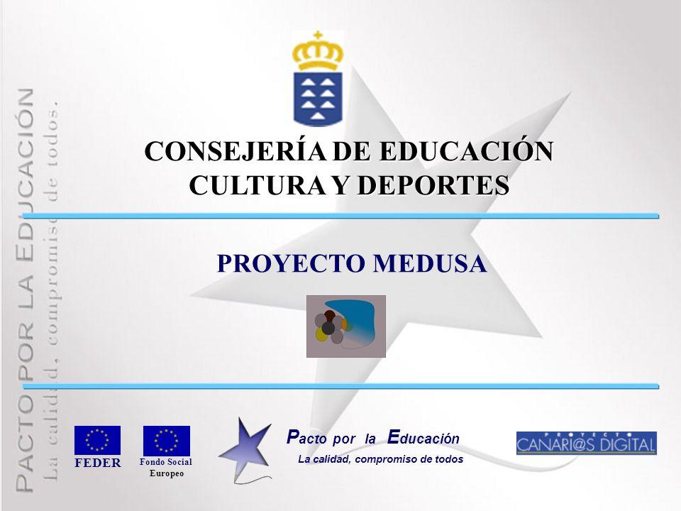 CONSEJERÍA DE EDUCACIÓN CULTURA Y DEPORTES