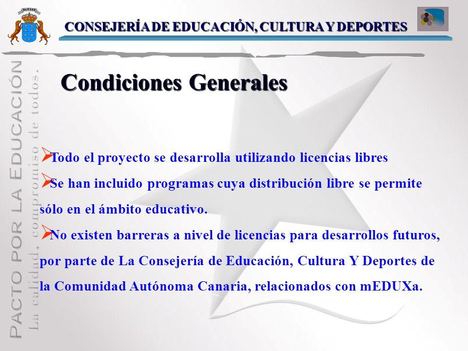 Condiciones Generales