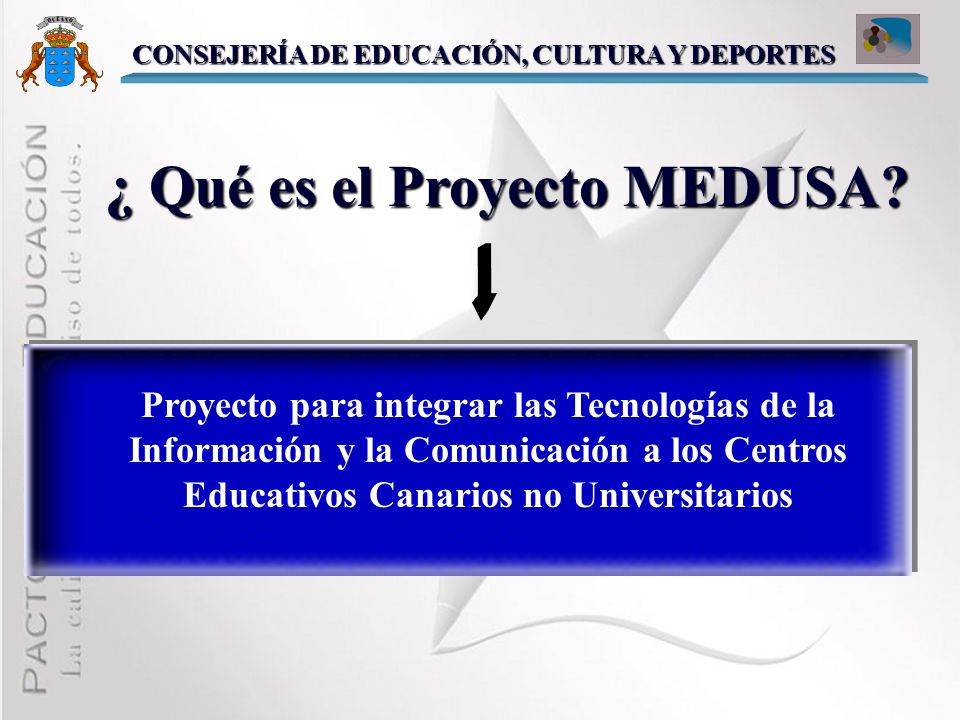 ¿ Qué es el Proyecto MEDUSA