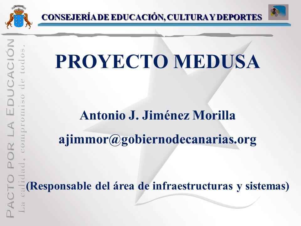 PROYECTO MEDUSA Antonio J. Jiménez Morilla