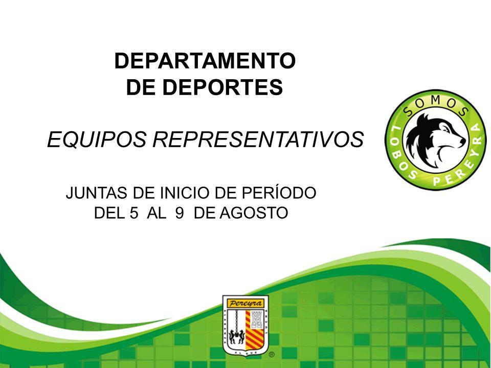 DEPARTAMENTO DE DEPORTES