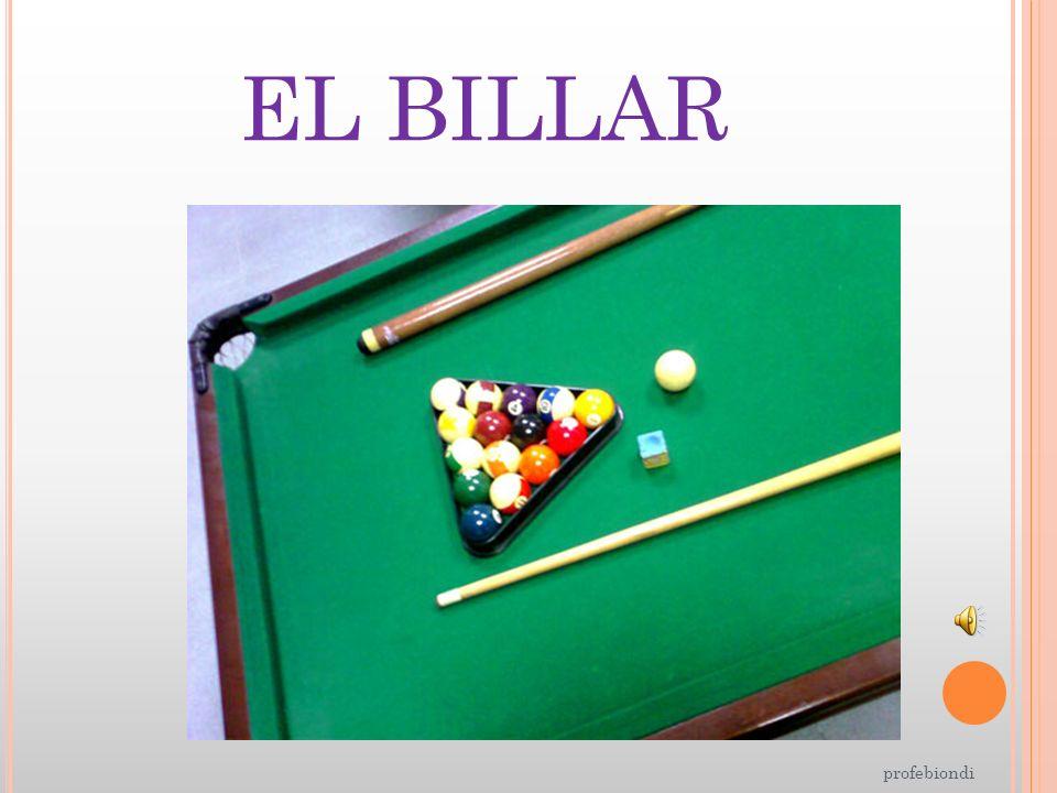 EL BILLAR profebiondi