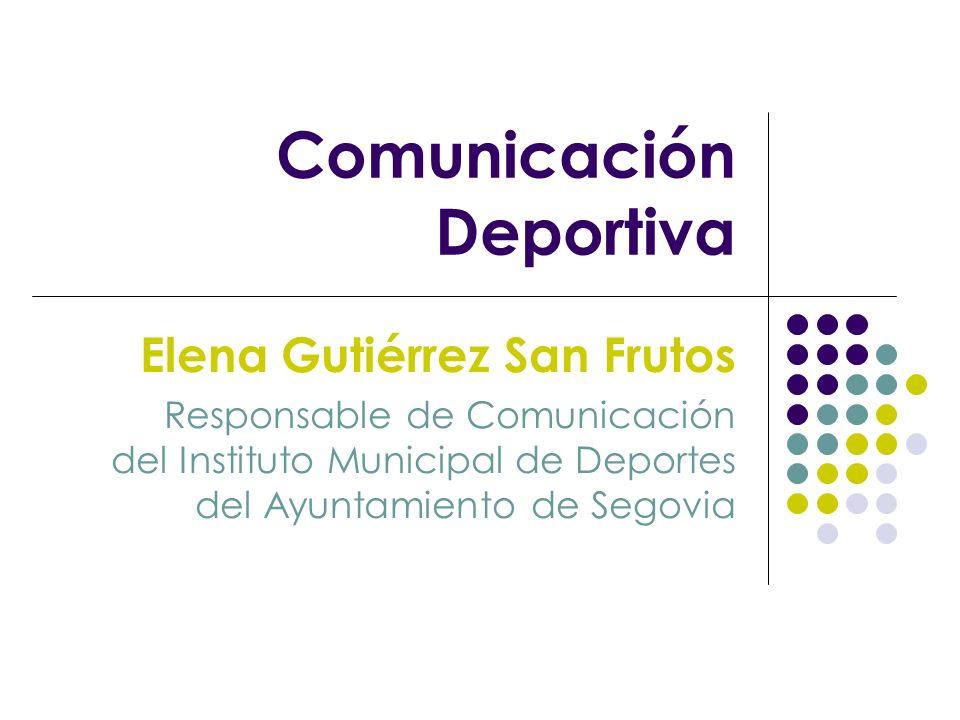 Comunicación Deportiva