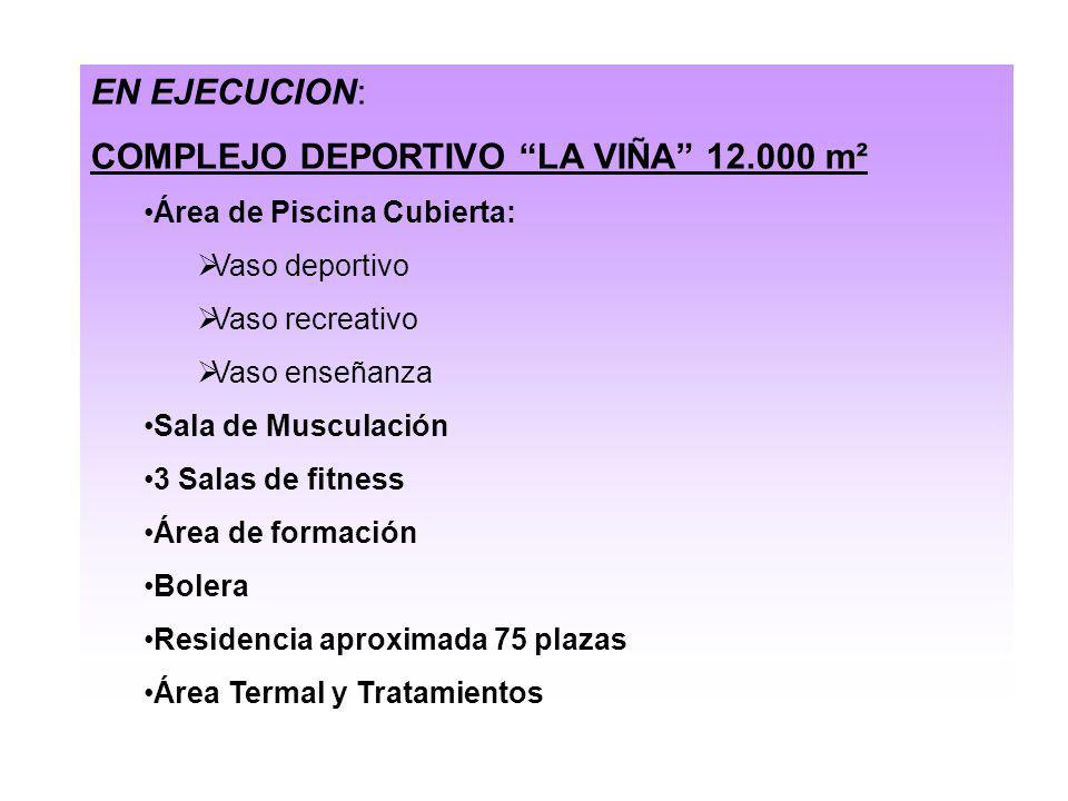 COMPLEJO DEPORTIVO LA VIÑA 12.000 m²