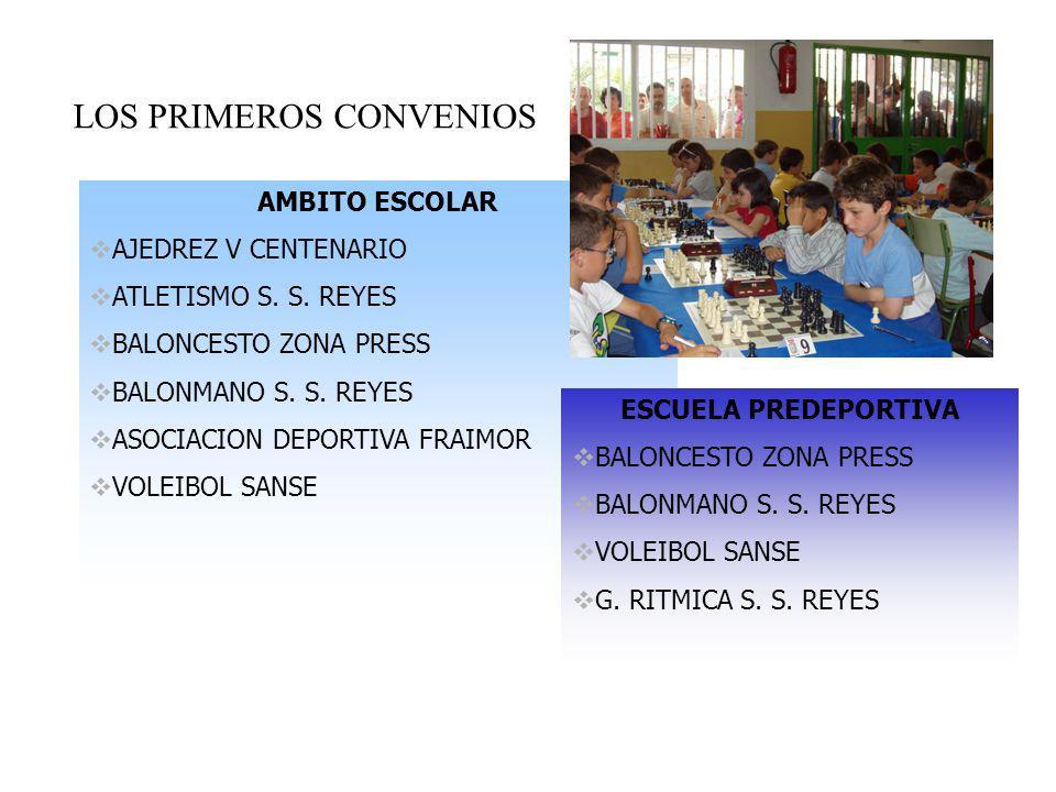 LOS PRIMEROS CONVENIOS