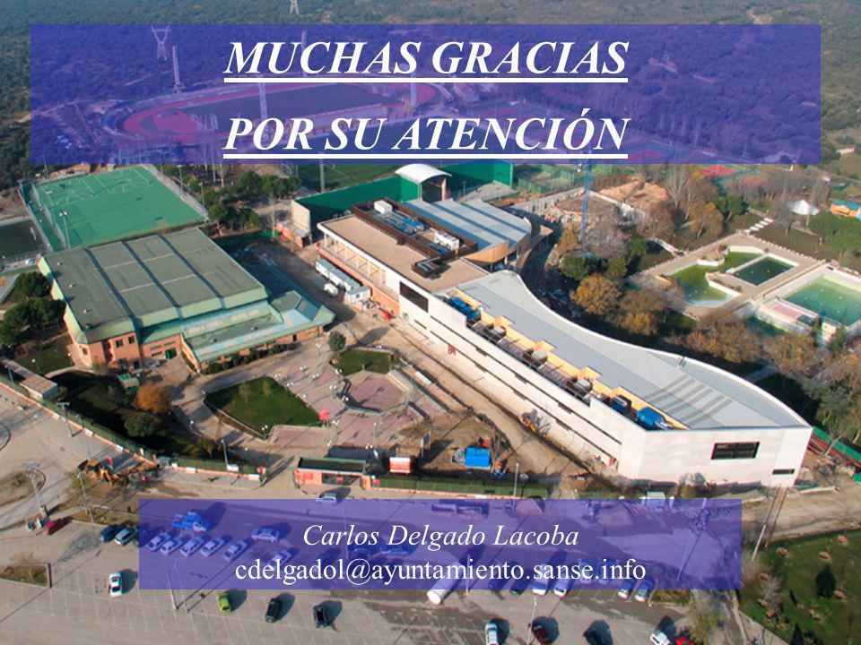 Carlos Delgado Lacoba cdelgadol@ayuntamiento.sanse.info