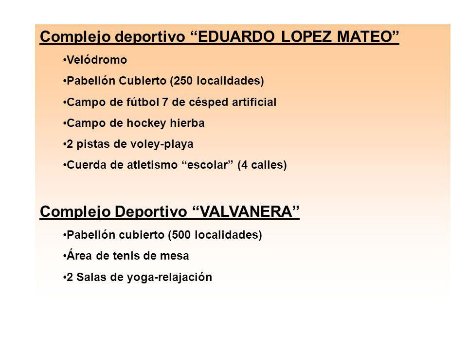 Complejo deportivo EDUARDO LOPEZ MATEO