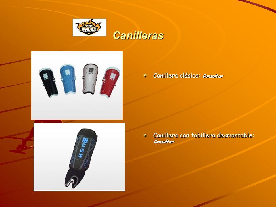 Canilleras Canillera clásica: Consultar