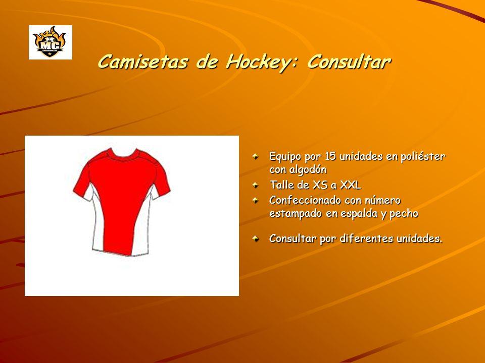 Camisetas de Hockey: Consultar