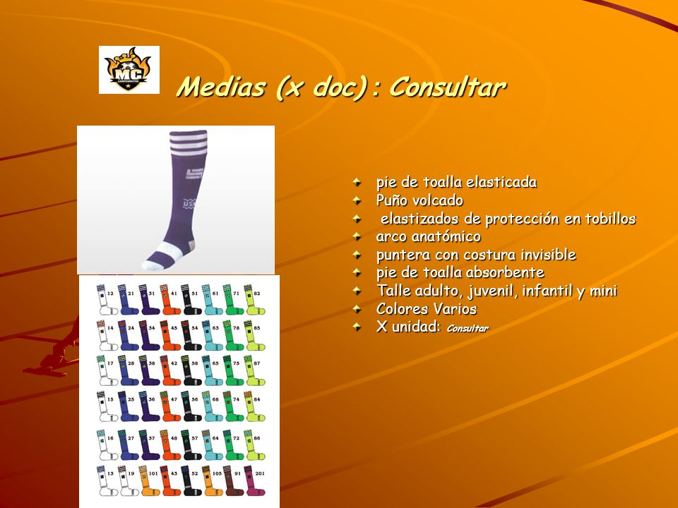 Medias (x doc) : Consultar
