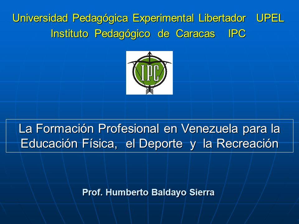 Prof. Humberto Baldayo Sierra