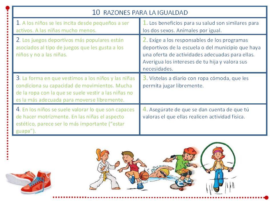 Tomado de: Actividad física y salud. Guía para familias