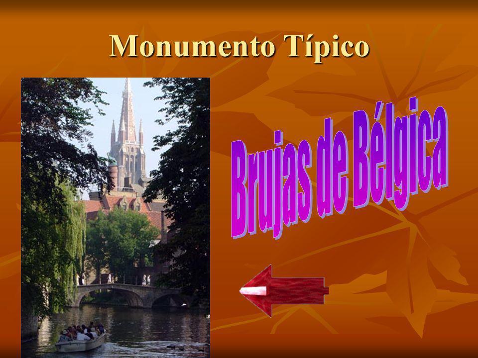 Monumento Típico Brujas de Bélgica