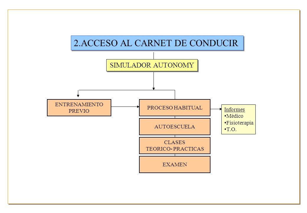 2.ACCESO AL CARNET DE CONDUCIR