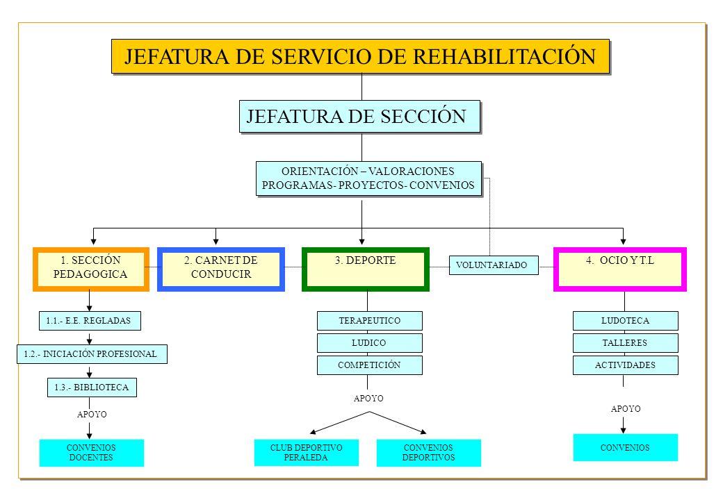 JEFATURA DE SERVICIO DE REHABILITACIÓN