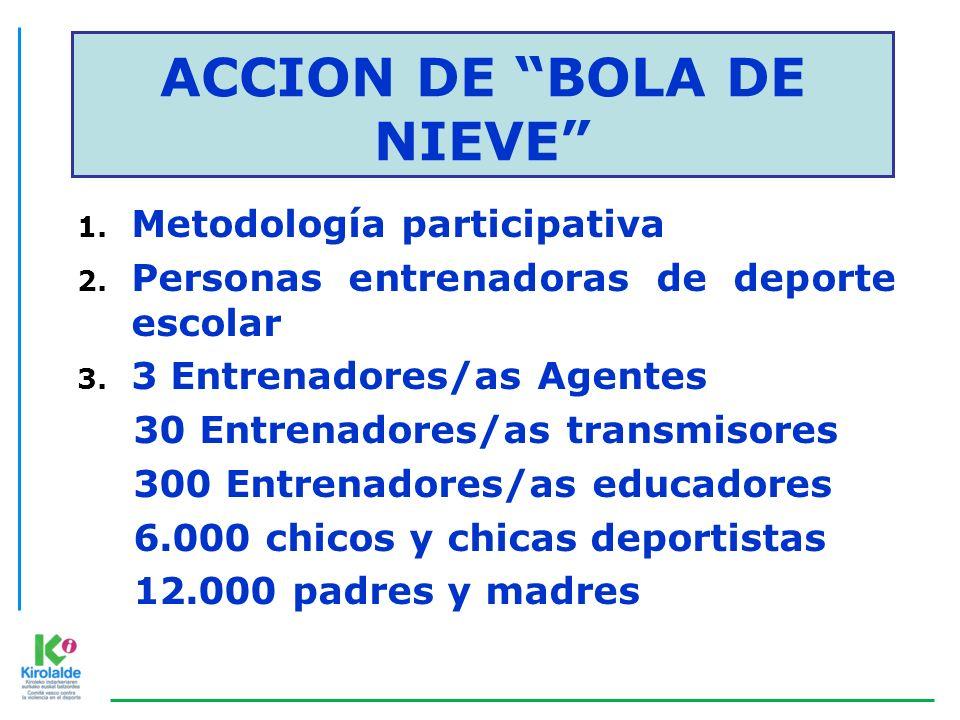 ACCION DE BOLA DE NIEVE