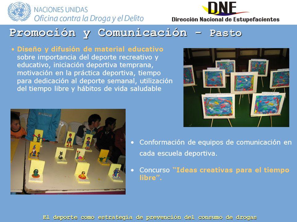 Promoción y Comunicación - Pasto