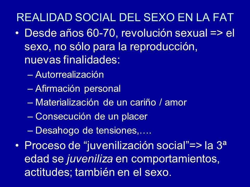 REALIDAD SOCIAL DEL SEXO EN LA FAT