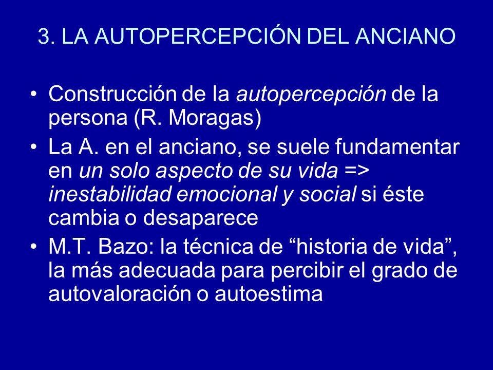 3. LA AUTOPERCEPCIÓN DEL ANCIANO