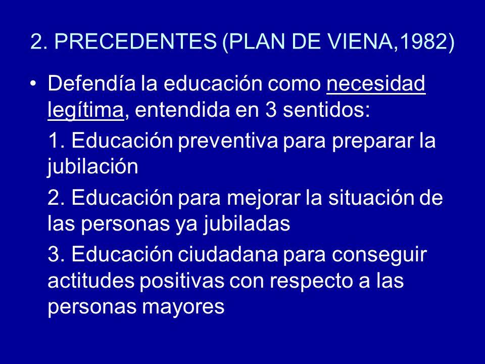 2. PRECEDENTES (PLAN DE VIENA,1982)