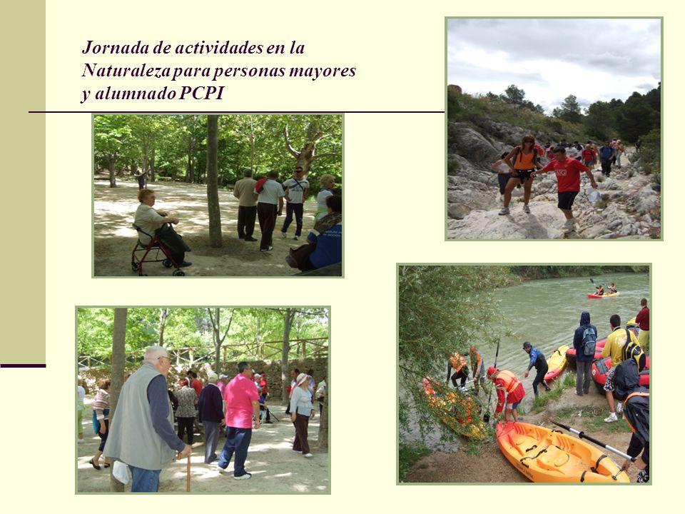 Jornada de actividades en la Naturaleza para personas mayores y alumnado PCPI