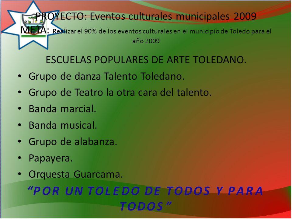 ESCUELAS POPULARES DE ARTE TOLEDANO.