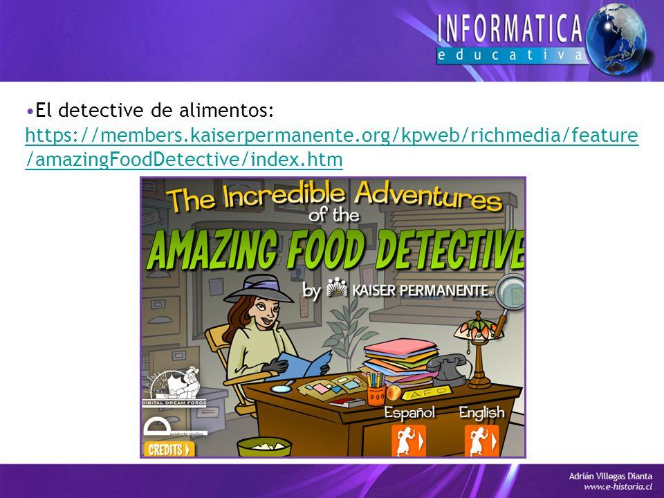 El detective de alimentos: